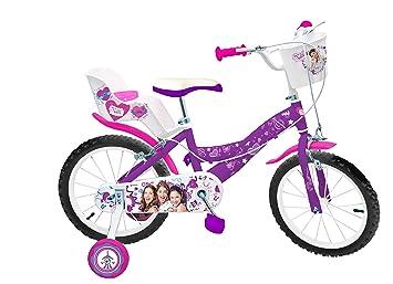 639927b4f3fb7 Toimsa- Disney Princess Vélo pour Fille-Violetta-16 de 5 à 8 Ans ...