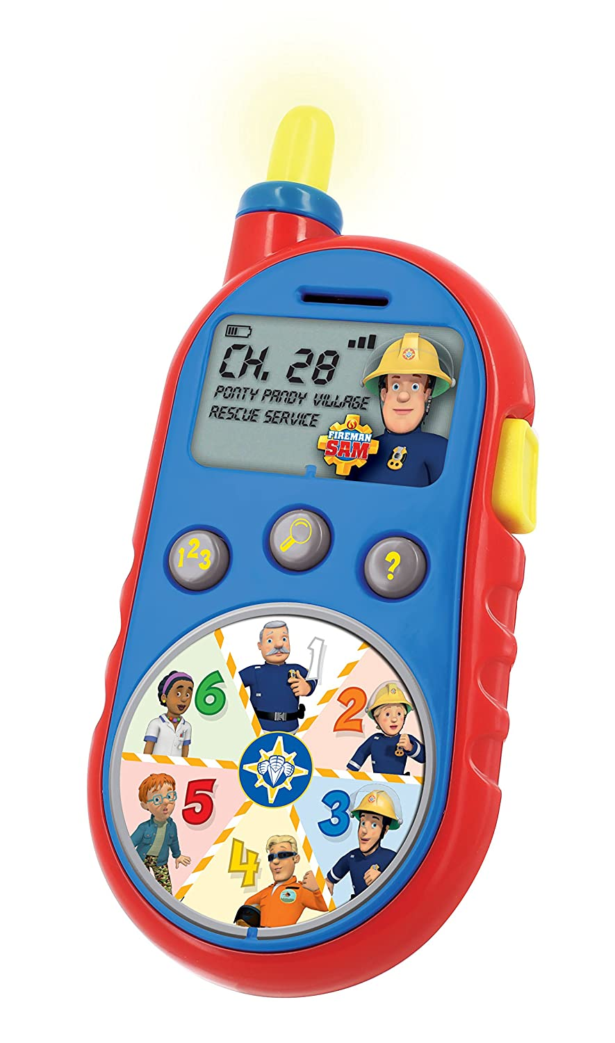 kd toys s13250 fireman sam rescue receiver toy inspiration works