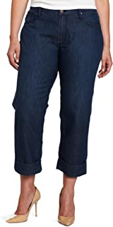 product image for James Jeans Women's Plus-Size Cori Z Jean in Paradise Blue
