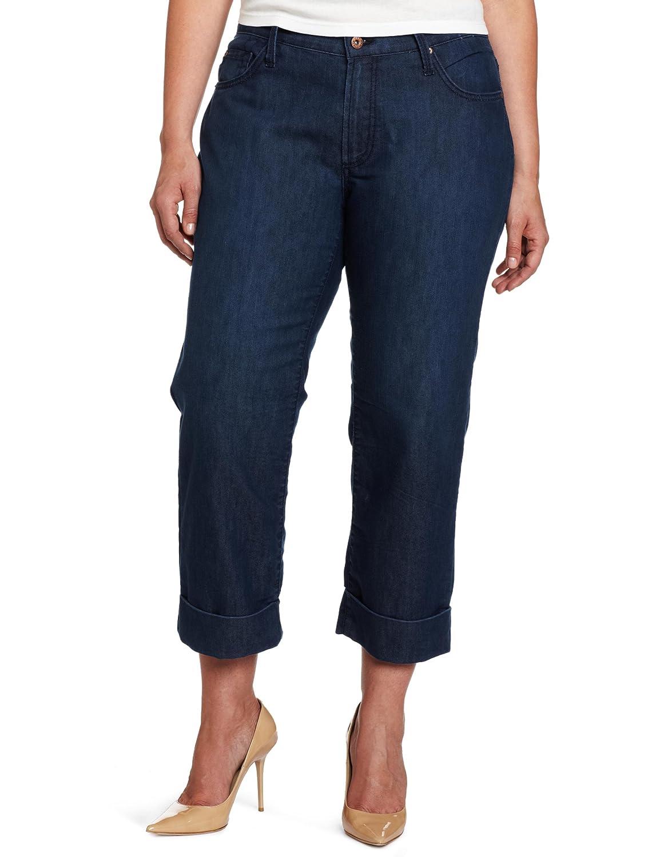 James Jeans Women's Plus-Size Cori Z Jean in Paradise Blue