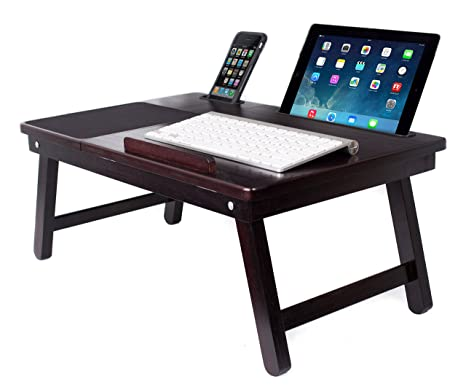 Sofia Sam Multi Tasking Laptop Bed Tray Supports Laptops Up To
