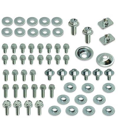 66pc Specbolt Kawasaki KX & KXF Body Bolt KIT for Plastics Seat Fenders shrouds Number Plates Fasteners fit KX60 KX80 KX85 KX100 KX125 KX250 KX500 KX250F KX450F KXF250 & KXF450: Industrial & Scientific [5Bkhe2010630]