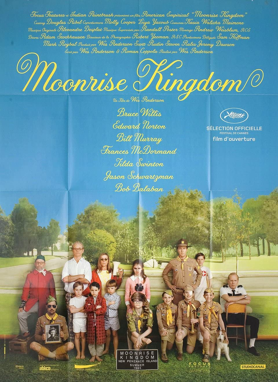 Moonrise Kingdom 2012 French Grande Poster at Amazon's ...