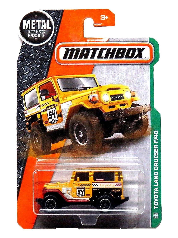 Matchbox 2016 Toyota Land Cruiser Fj40 120 125 Yellow 1990 Toys Games