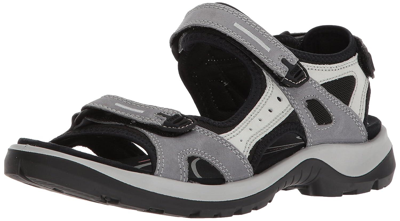 ECCO Women's Yucatan Sandal B071HDDRXP 38 EU/7-7.5 M US|Titanium