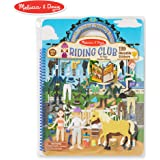 Melissa & Doug Puffy Sticker Activity Book: Riding Club - 139 Reusable Stickers