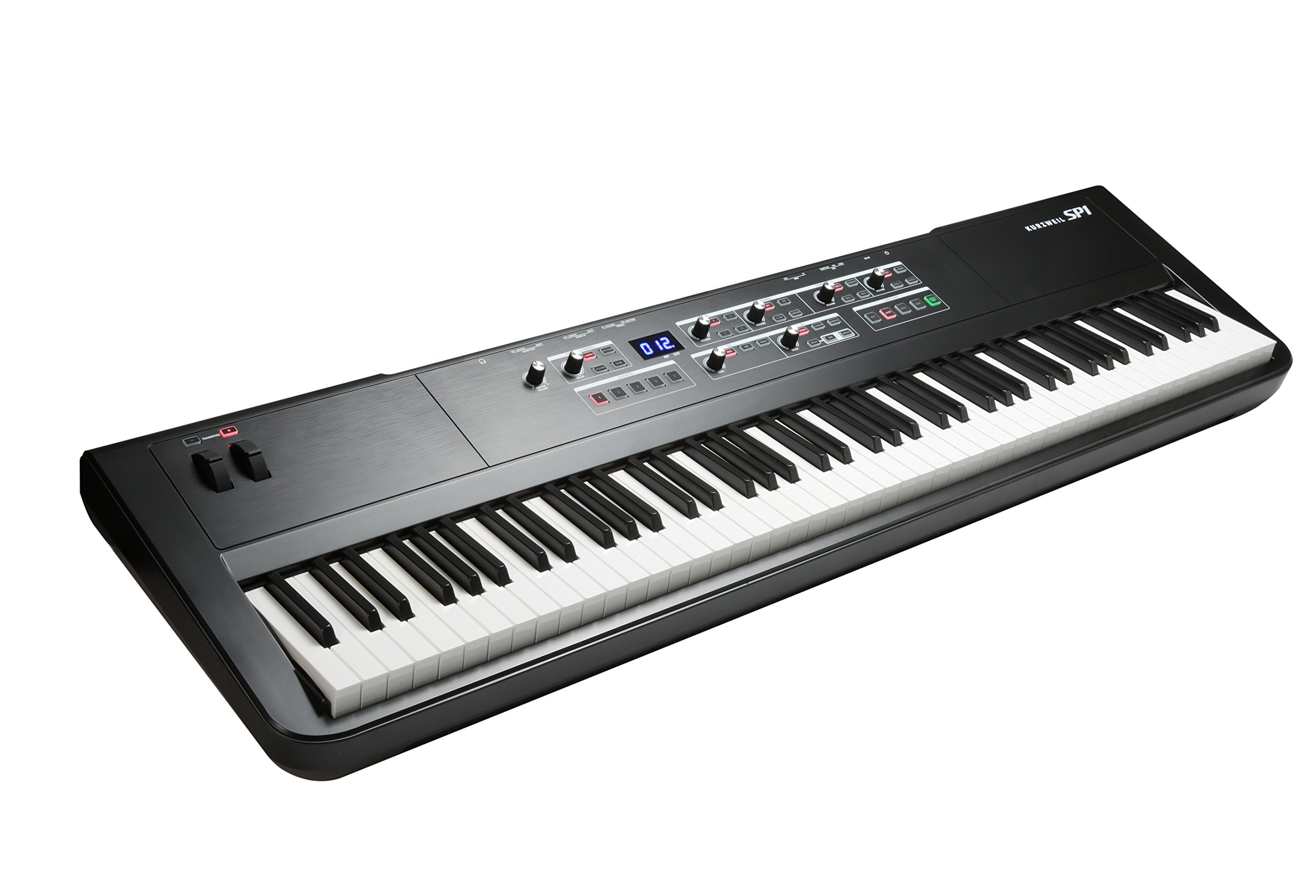 Kurzweil SP1 88-Key Stage Piano, Black (SP1-LB) by Kurzweil (Image #4)
