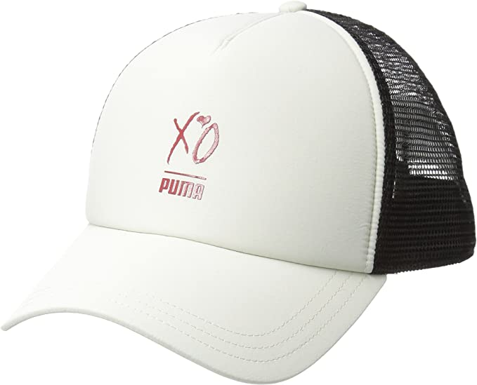 6841761a7bbaa discount lyst puma style trucker hat in blue for men b1bdc 25ab8  sweden puma  mens x xo by the weeknd trucker cap silver birch one size b7c1b 3b420