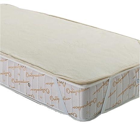 LA WEB DEL COLCHON - Cubre colchón de pura lana 135 x 190