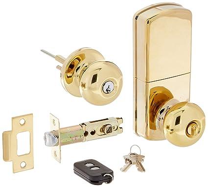 MiLocks WKK 02P Digital Door Knob Lock With Keyless Entry Via Remote  Control For Interior