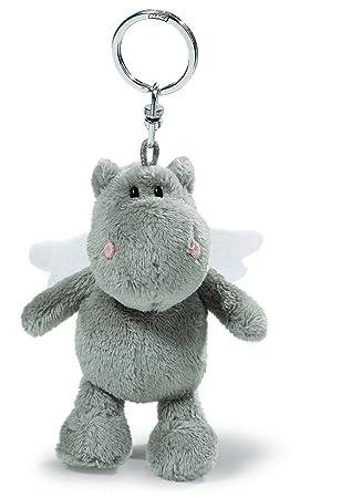 NICI - Love Hipopótamo, Llavero de Peluche, 10 cm, Color ...