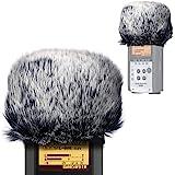 Furry Outdoor Microphone Windscreen Muff for Zoom H4N Pro Portable Digital Recorders, Zoom Mic Windscreen Fur Windshield Dead