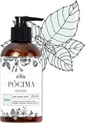 Pócima - Jabón Corporal Líquido con aceite Esencial de Menta y Aloe Vera Orgánico 250 ml …