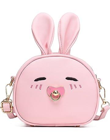 0d7124508dc2 CMK Trendy Kids Bunny Purse Shoulder Bags for Girls Gifts for Children