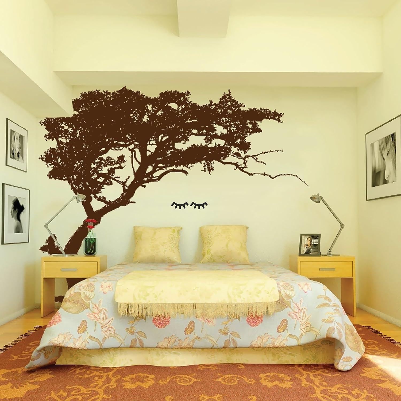 Amazon.com: Chic Decorative 3-Dimensional Wooden Eyelash Wall ...