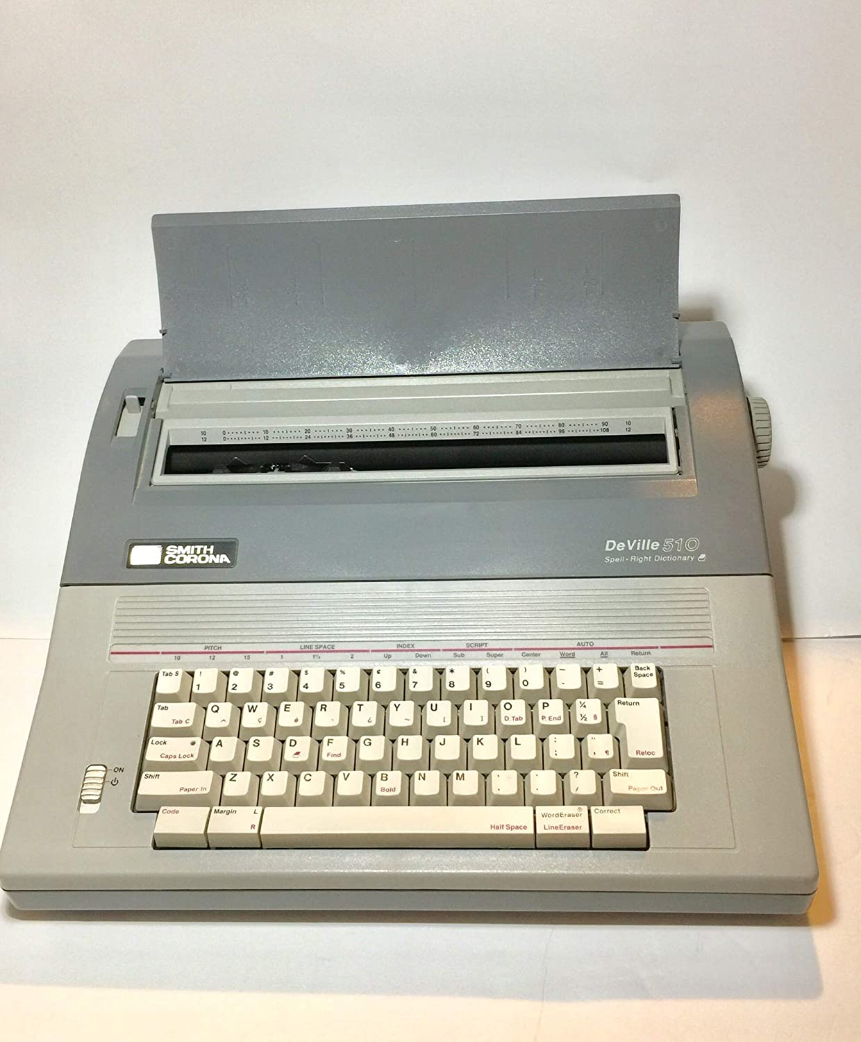 Smith Corona DeVille 510 Electric Typewriter Spell Right Dictionary Works
