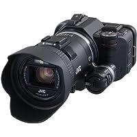 """JVC GC-PX100BEU Videocamera Full HD, Sensore CMOS Retroilluminato da 1/2,3"""" 12M, Fotocamera da 12 MP, Obiettivo F 1.2, Zoom Ottico 10x, LCD Touch Panel da 3"""", Nero"""