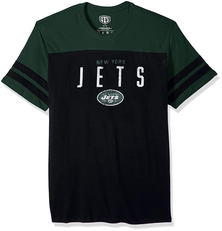 NFL Mens OTS Cotton Yoke Stripe Tee