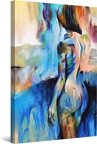Startonight Canvas Wall Art Decor Abstract Woman Silhouette Painting