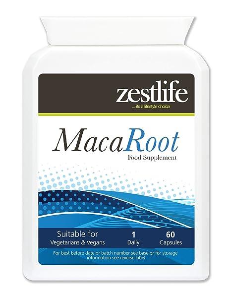 Zestlife Raíz de Maca alta resistencia Raíz de Maca | 4 : 1 250 mg x