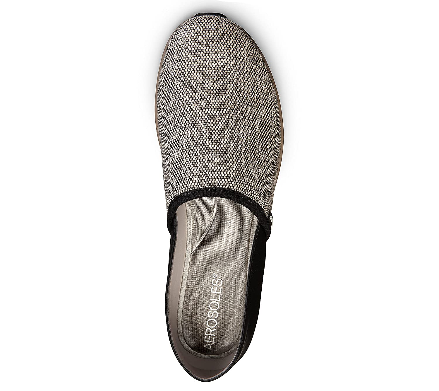 Aerosoles Women's Next Level Flat B071DH8PDY 12 B(M) US|Taupe Combination