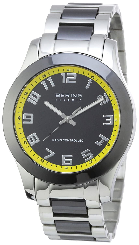 Bering Radio-Ceramic 33041-727 - Reloj analógico de Cuarzo para Hombre, Correa de Diversos Materiales (Radio)