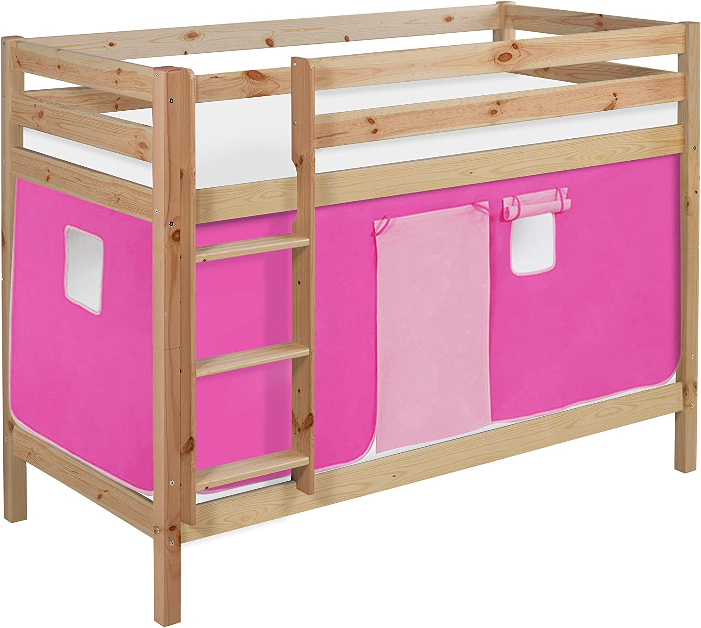 Lilokids Lilokids - Litera con dosel y somier, color rosa: Amazon ...