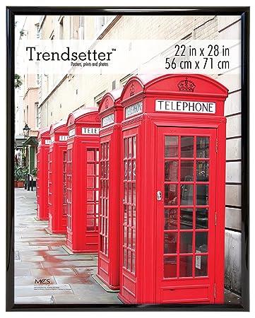 mcs 27228 trendsetter poster frame 22 by 28 inch black