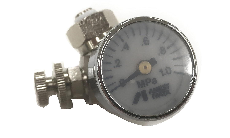 アネスト岩田 ロータリー式手元圧力計 AJR02LVG