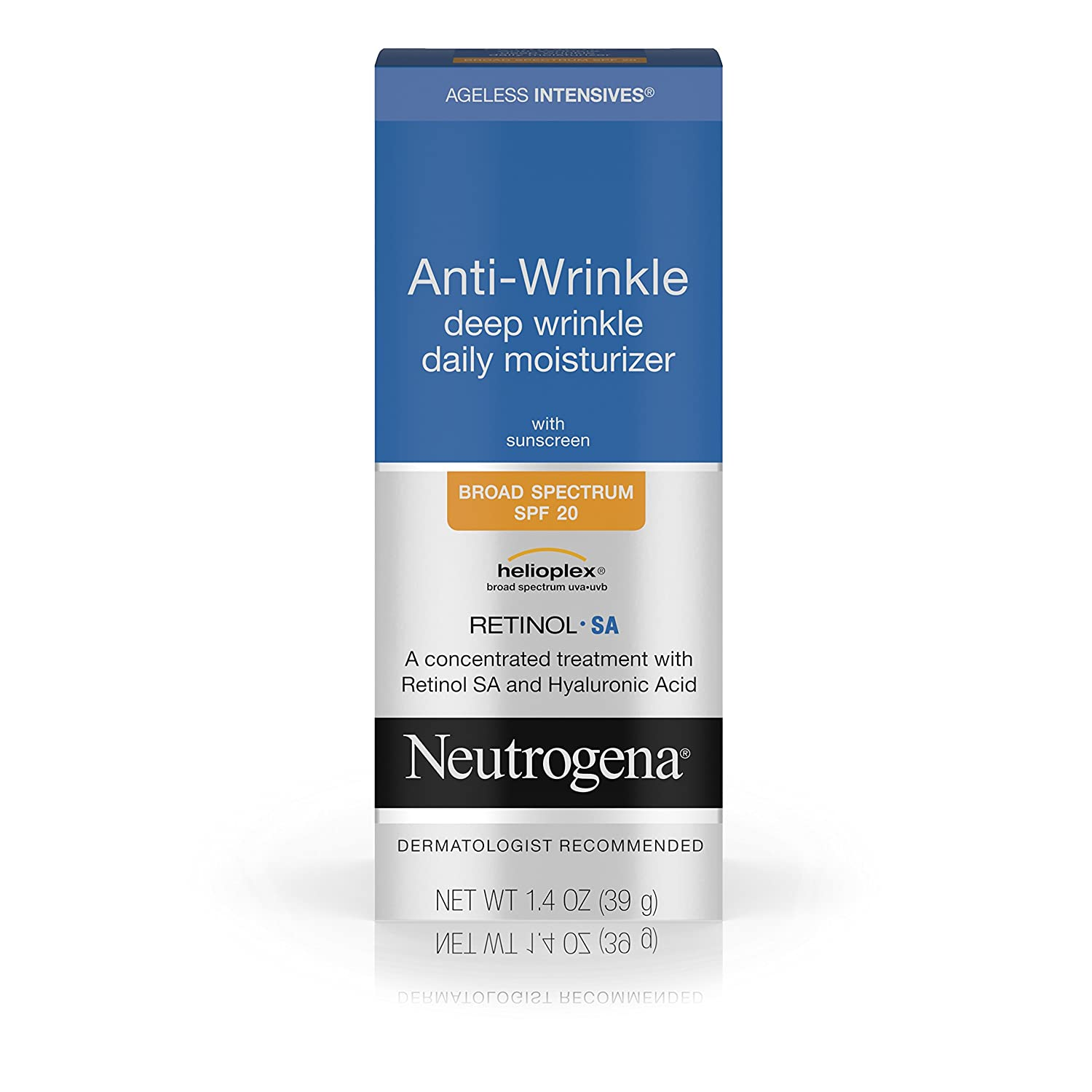 Neutrogena Ageless Intensives Anti-Wrinkle Night Moisturizer, 1.4 oz Lancome Absolue Precious Essence Sublime Regenerating Oleo-Serum 30ml/1oz