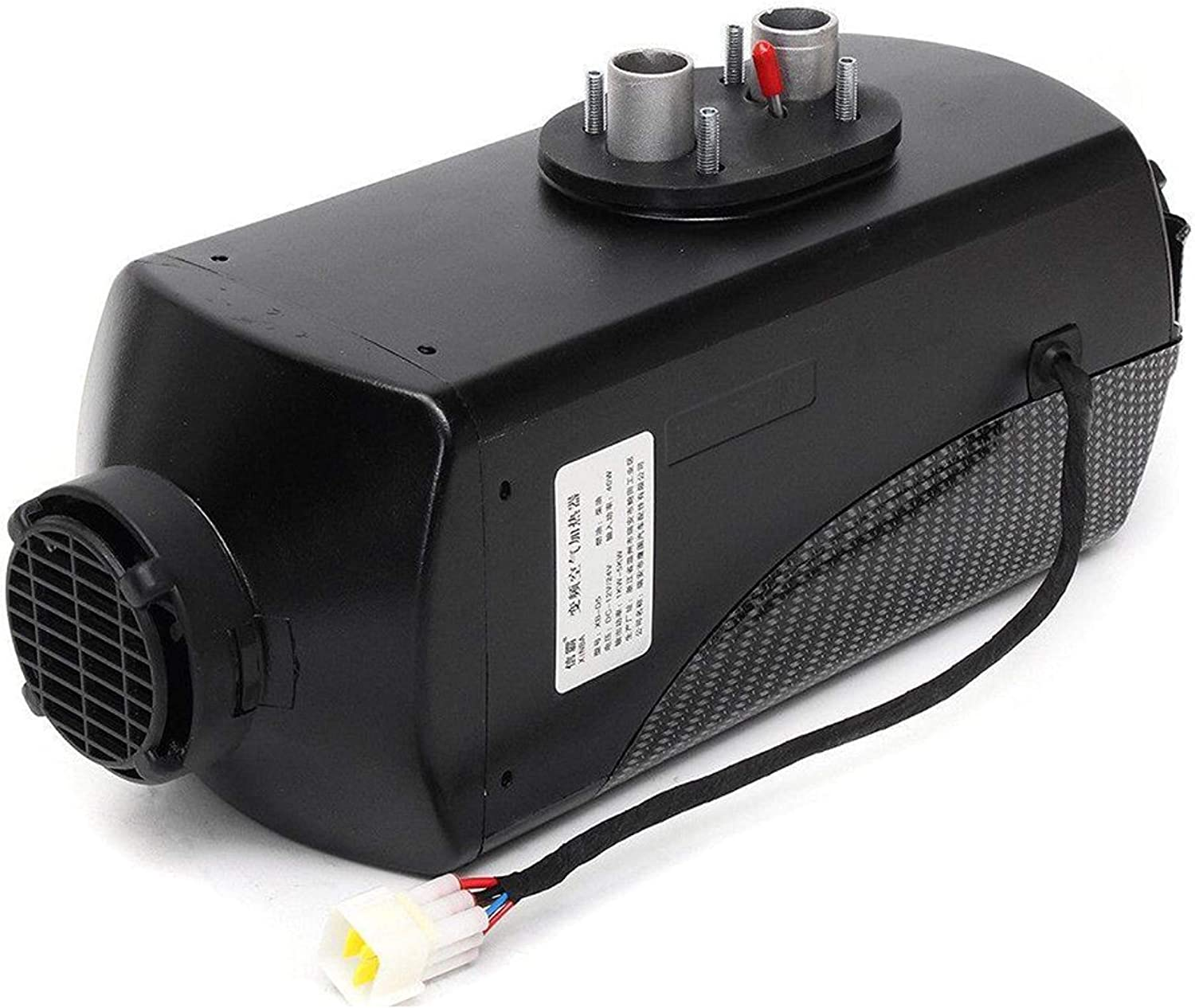 TAUFAOD 12V Air Diesel Heater 5KW Parking Heater Muffler with Remote Control Silencer LCD Thermostat for Truck RV Bus Trailer Motorhome Boats Caravans