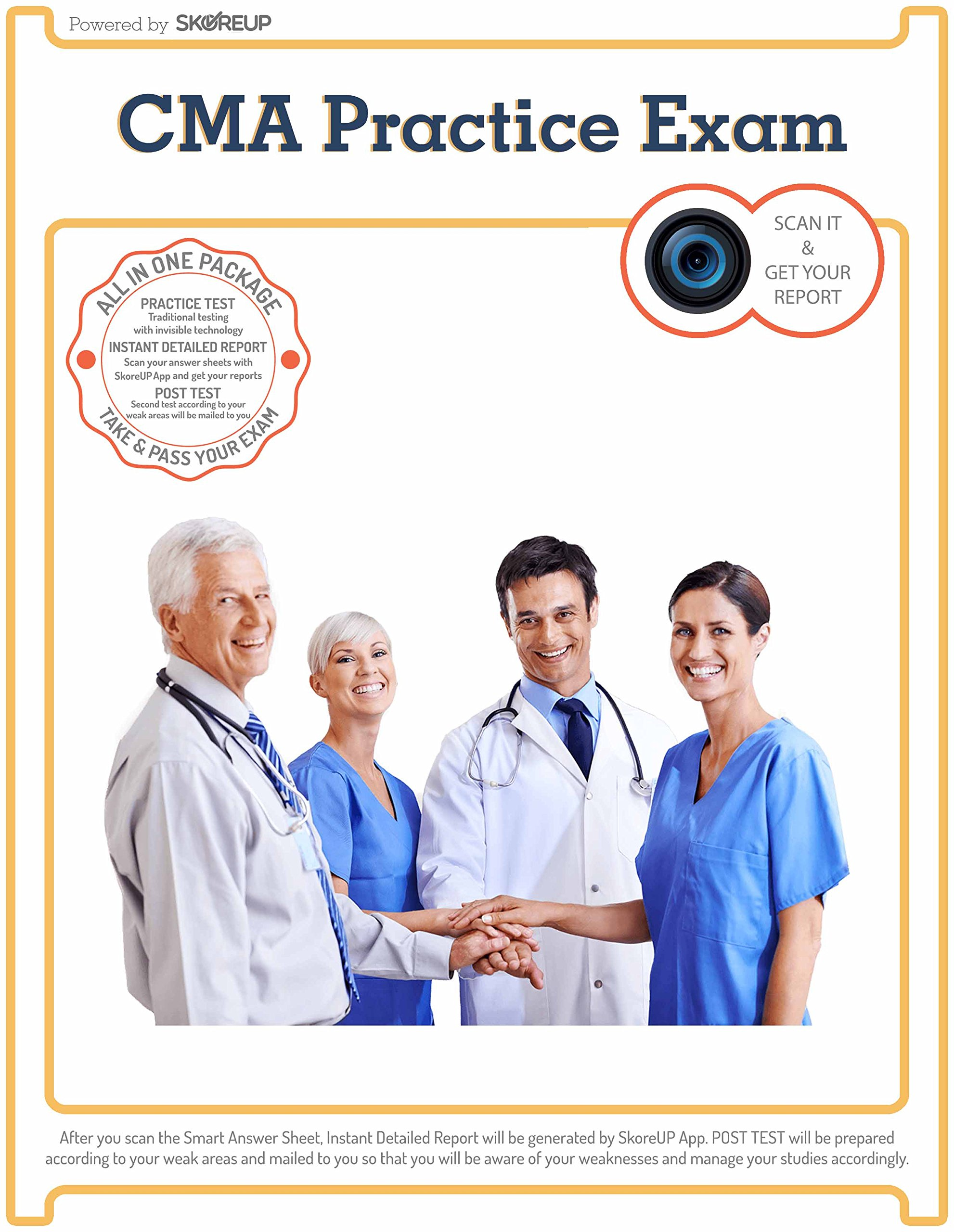 Cma Certified Medical Assistant Exam Practice Test Skoreup Llc