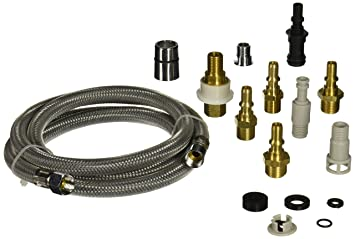Danco Kitchen Faucet Pullout Spray Hose With Adapter Kit Gray 57