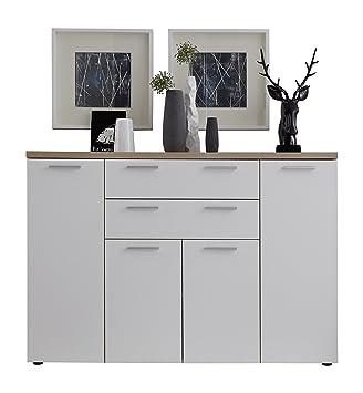 Trendteam Smart Living Wohnzimmer Kommode Schrank Bravo 148 X 103 X