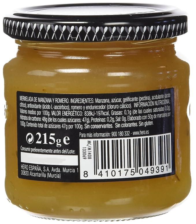 Hero - Maridaje Del Chef - Maridaje de manzana y romero - 215 g - [Pack de 8]: Amazon.es: Alimentación y bebidas