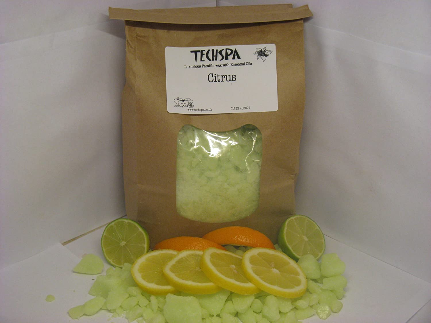 Citrus Paraffin Wax (1 kilogram - 1000 grams) Made in UK. Carantan Limited