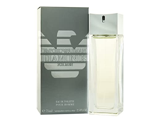 Emporio Armani Diamonds by Giorgio Armani for Men. Eau De Toilette Spray 75 ml: Amazon.es