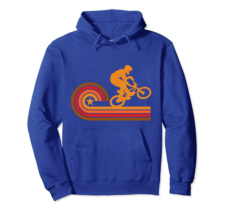 Retro Style BMX Bike Rider Vintage Hoodie-Colonhue