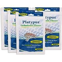 Platypus - Ortho Dental Flossers-30 Flossers Per Pack (4 Pack)