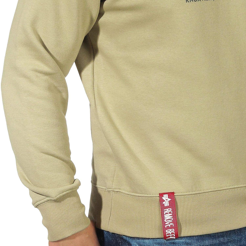 Alpha Industries Mens Basic Sweater Jumper