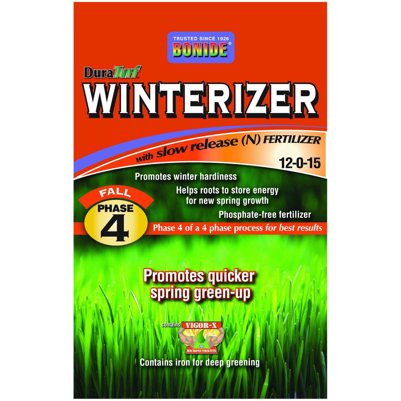 BONIDE PRODUCTS 60444 Winteriz Fertilizer, 15M