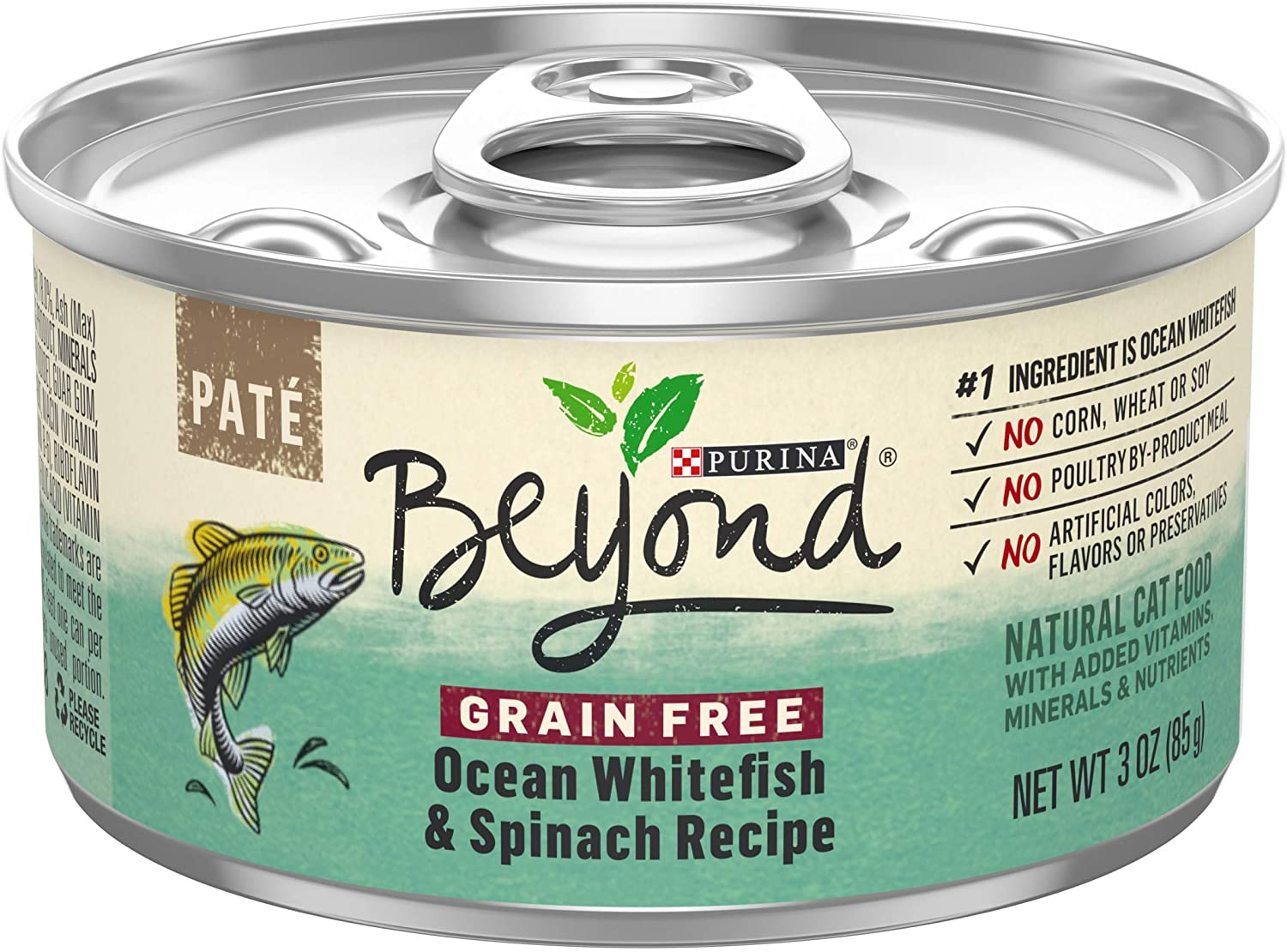 Purina Beyond Grain Free, Natural, Adult Wet Cat Food Pate
