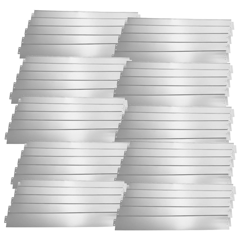 recinzione per aiuole 14/cm di altezza 100/cm di lunghezza MCTECH/® Set di 5 bordure per prato in metallo zincato