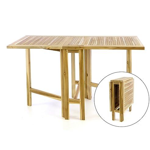 gartentisch zum klappen miamo gartentisch klappbar teakholz massiv rechteckig with gartentisch. Black Bedroom Furniture Sets. Home Design Ideas