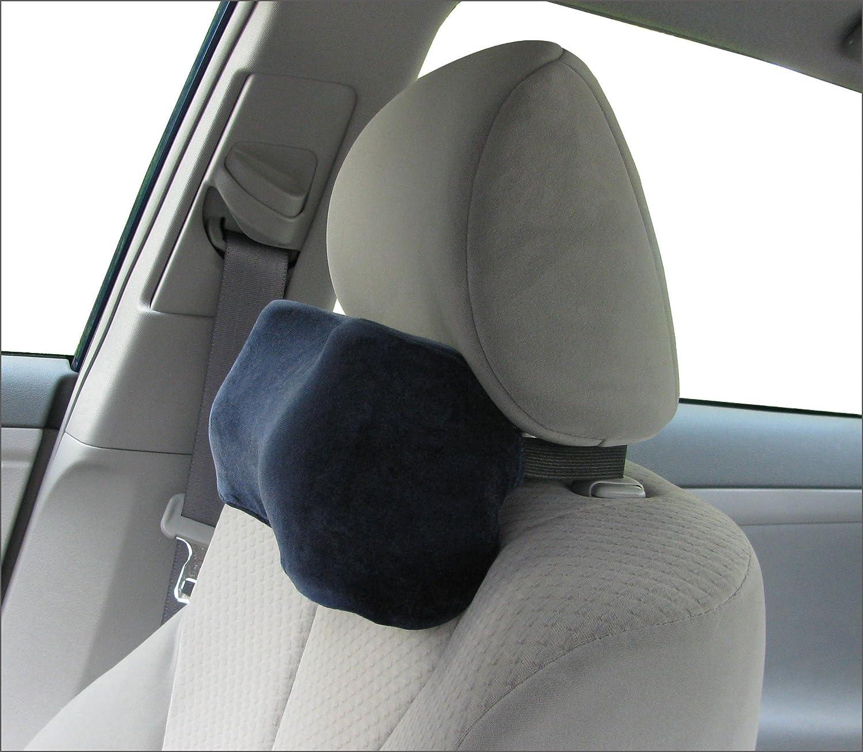 Amazon com car neck pillow soft version neck pillow car pillow memory foam neck pillow neck rest pillow car neck pillow color dark blue home
