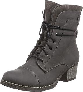 Rieker 70847 Damen Stiefel, Stiefelette, Schnürstiefel, Boot