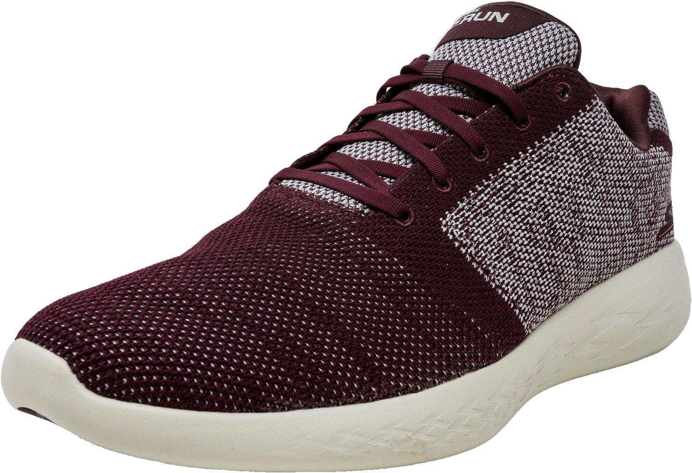 Skechers Mens Arise 5Gen GOGA Max Running Shoes B07BZ1MMFN 9 D(M) US|Burgundy
