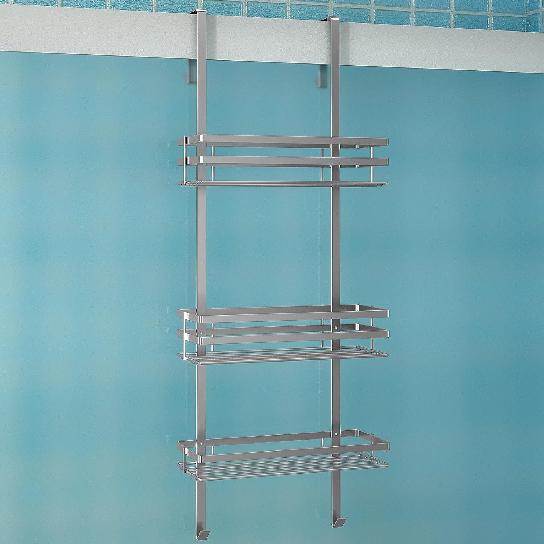 duschregal duschkorb ablage für dusche verchromt mit 3 ... - Hangeregal Dusche Rostfrei