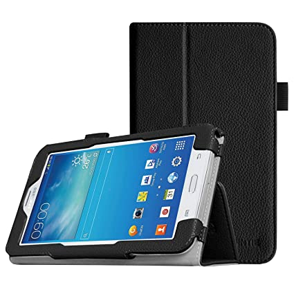 best service f44f0 a2a07 Fintie Folio Case for Samsung Galaxy Tab E Lite 7.0 - Slim Fit Folio Stand  Leather Cover for Galaxy Tab E Lite SM-T113 / Tab 3 Lite 7.0 SM-T110 / ...