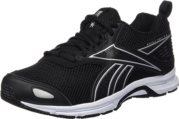 Reebok Triplehall 5.0, Zapatillas de Running para Hombre, Negro/Plateado/Blanco (Black/Silver/White), 48.5 EU: Amazon.es: Zapatos y complementos